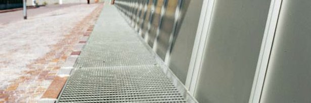 Gridiron gratings